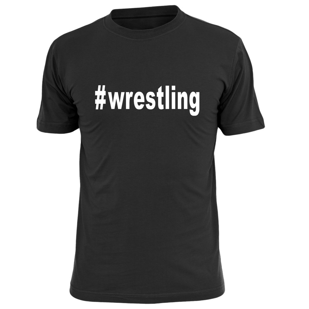 OKnown Men's T-Shirts Wrestling Cotton Funny Tee