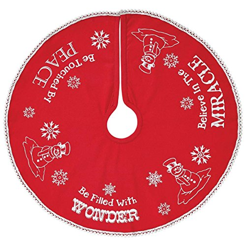 VHC Brands Winter Wonderment Mini Tree Skirt 21
