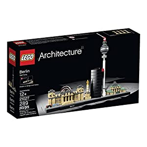 289 Piece, Berlin Towers Building Set - 51FReAid6lL - 289 Piece, Berlin Towers Building Set