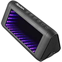 WEGWANG LED Portable Wireless Bluetooth 4.1 Speakers, 20W Driver with Advanced Bass Boost Technology with 5 Dynamic 3D Lights Effects