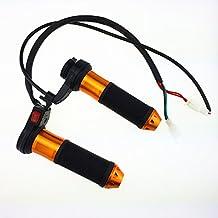 "Iztoss 12v Motorcycle Motorbike ATV 7/8"" 22mm Electric Hand heating Heated Grips Handlebar Adjustable with switch"