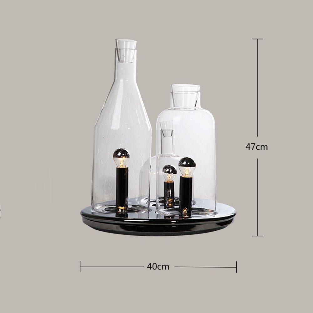 Pointhx Modern Simplicity 3 Head Botella de Cristal ...