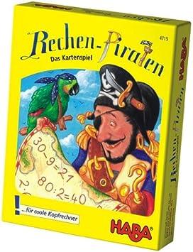 Haba 4715 Rechen Piraten - Juego de cartas infantil con ...