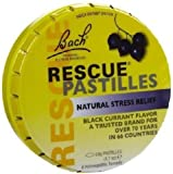Bach Rescue Remedy Pastilles, Black Currant, 1.7 oz