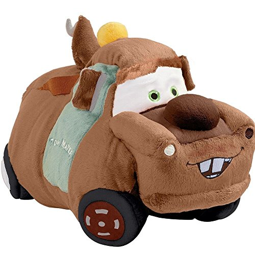 Disney Pixar Cars Pillow Pets - Cars 3 Tow Mater Stuffed Plush Toy