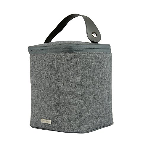 JJ Cole 4 Bottle Cooler, Gray Heather