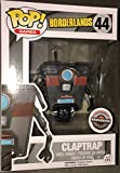 Funko Pop Games Borderlands Claptrap 2015 Exclusive Vinyl Figure