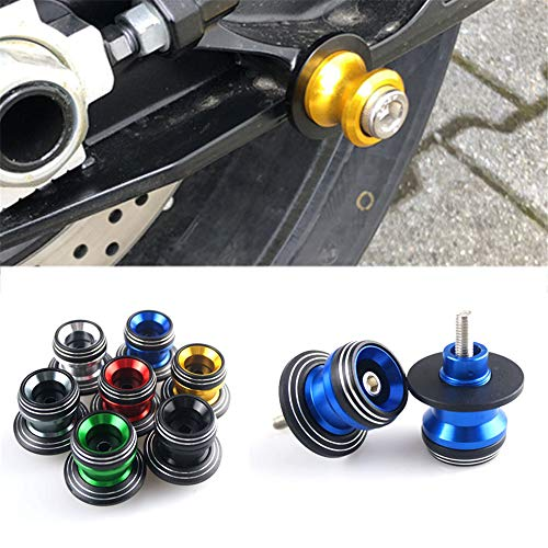 8MM Motorcycle CNC Aluminum Swingarm Swing arm Spools Sliders For Honda CBR600F / CBR600F2 / CBR600F3 / CBR600F4 / CBR600F4i (Cbr600f3 Honda Swing Arm)