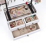 Jewelry Organizer - 2 Layer Wooden Jewelry Drawer