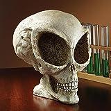 Design Toscano Extra-Terrestrial Alien Skull Statue For Sale