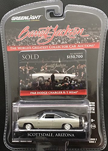 Greenlight 1:64 Barrett - Jackson Scottdale Edition 1968 Dodge Charger R/T Hemi