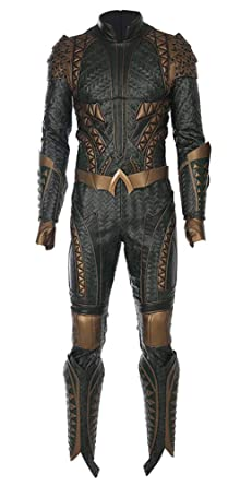 COSKING Deluxe Disfraz de Aquaman para Hombre Película 1:1 Cosplay ...
