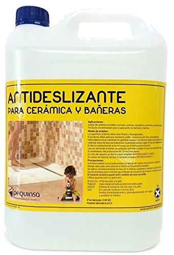 Liquido antideslizante para suelos cerámicos y gres. Envase 5 litros.: Amazon.es: Bricolaje y herramientas