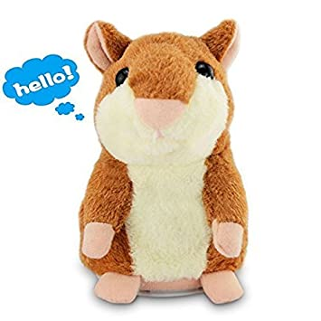 Talking Hamster Repeats What You Say Electronic Pet Hamster for Child Xmas Gift