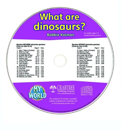 What Are Dinosaurs? (My World)