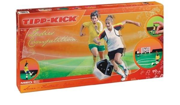 TIPP-KICK 010976 Ladies Competition - Futbolín de Mesa [Importado de Alemania]: Amazon.es: Juguetes y juegos