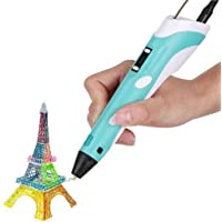 Robocraze 3D Pen-2 Professional | 3D Printing Drawing Pen with 3 x 1.75mm ABS/PLA Filament for Creative Modelling and Education