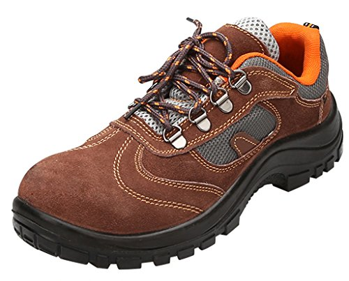 Steel Shoes Men's Brown Shoes Safety Work Shoes Optimal Comp Toe 4PBYqBw