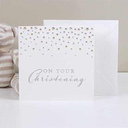 Bambino Deluxe bautizo tarjeta de regalo con sobre - en su ...