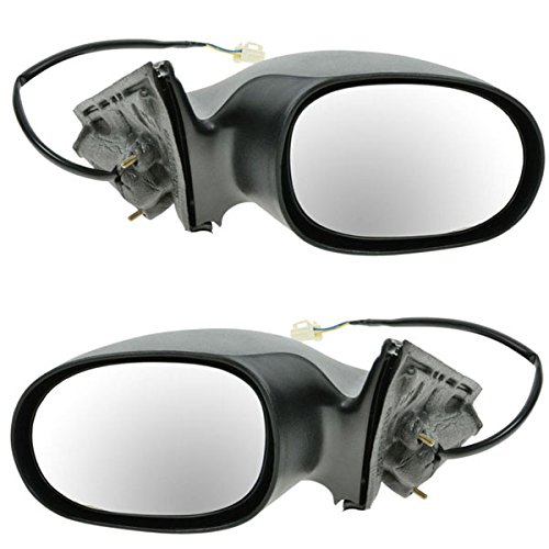 (Koolzap For 01-06 Stratus Sebring Sedan Power Heat Rear View Mirror Left Right Side SET PAIR)