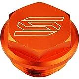 Scar Racing Rear Brake Reservoir Cover - Orange 5901