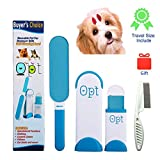 ORAK Lint Brush | Pet Hair Remover Brush | Dog & Cat Hair Remover with Self-Cleaning Base | Efficient Double Sided Animal Hair Removal Tool | Perfect for Furniture, Carpet, Clothing, Couch For Sale