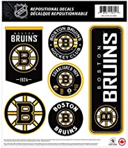 Boston Bruins 12x14 Repositionable Wall Decal Pack