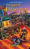 Staged 4 Murder (Sophie Kimball Mystery) by  J.C. Eaton in stock, buy online here