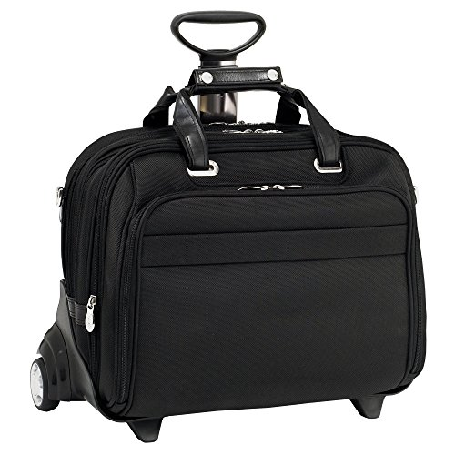 Mcklein USA 76605 Midway , 15.6'' Nylon Check point friendly Detachable Wheeled Laptop case by McKleinUSA