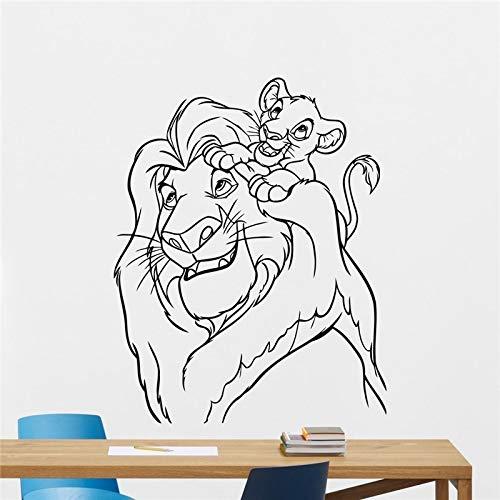 tong99 Lion King Tatuajes de Pared Dibujos Animados Vinilo ...