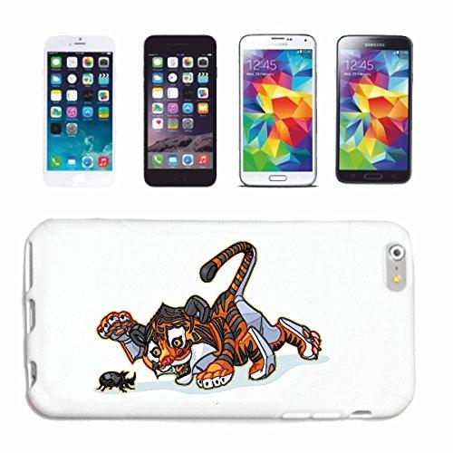 """cas de téléphone iPhone 6+ Plus """"FUNNY TIGER D'UN BEETLE COMMENCE BIG CAT LEOPARD KING TIGER Siberian Tiger BIG CAT CATS VISAGE PANTHERA"""" Hard Case Cover Téléphone Covers Smart Cover pour Apple iPhone"""