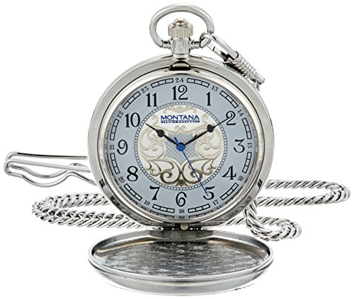 Montana Silversmiths WCHP40D Montana Time Analog Display Quartz Pocket Watch by Montana Silversmiths (Image #3)
