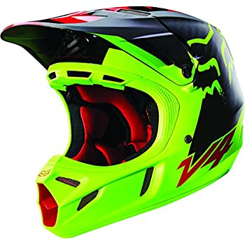 Fox Racing Libra Men's V4 Motocross Motorcycle Helmet - Yellow / Large
