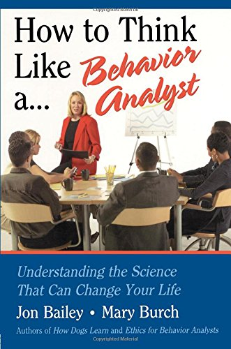 Pdf Medical Books How to Think Like a Behavior Analyst: Understanding the Science That Can Change Your Life