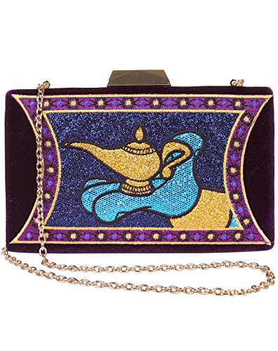 Magic Danielle Bag Disney Aladdin Nicole Clutch Lamp qngtF