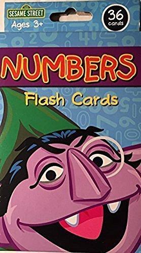 Kappa Sesame Street Numbers Flash Cards