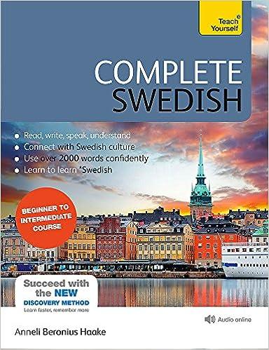 Complete Swedish Beginner To Intermediate Course: (book And Audio Support) Epub Descarga gratuita