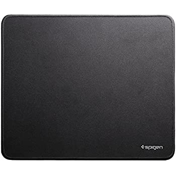 "Spigen A100 Mouse Pad Gaming Mat with Smooth Surface and Stitched Edges 12.6"" x 10.6"" x 0.1"" Medium Size – Speed Edition"