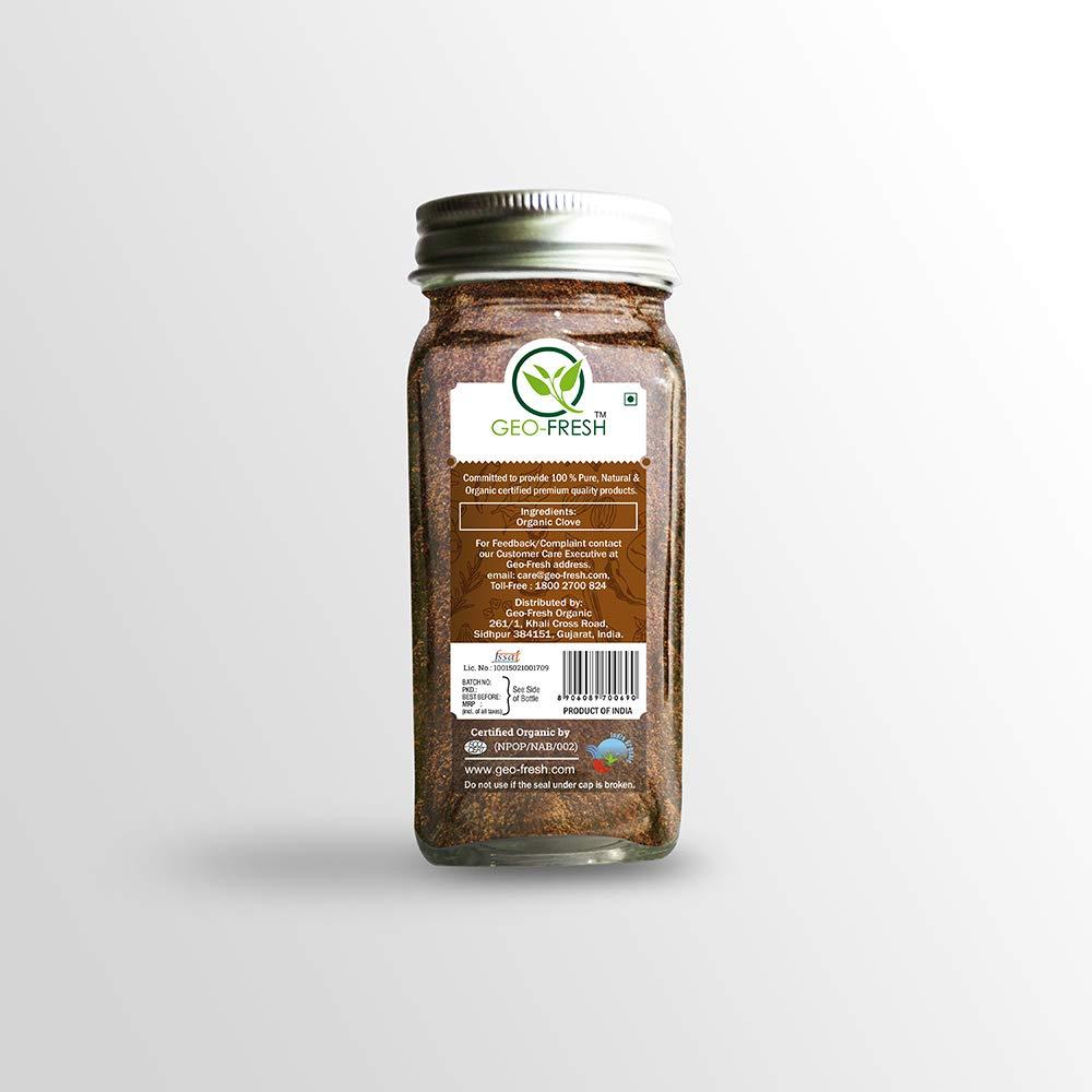 Geo-Fresh Organic Clove Powder - 45g (Pack of 2) by Geo-Fresh (Image #1)