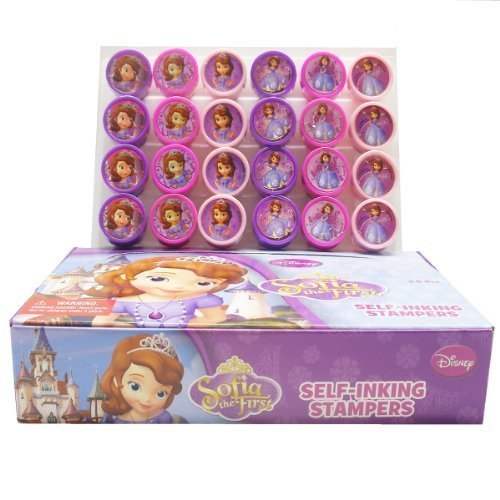 Disney Princess Sofia Stampers Party Favors (24 -