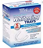 Harmon Face Values 10-Count 5-Day Dry-to-the-Touch Dental Whitening Tray