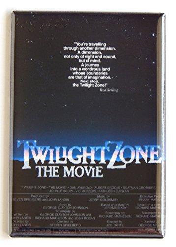 Twilight Zone Movie Poster Fridge Magnet (2.5 x 3.5 inches) ()