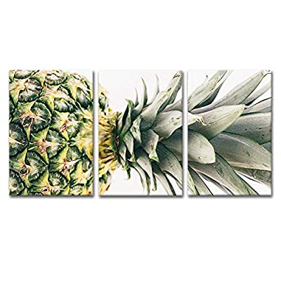 3 Panel Pineapple Gallery - Canvas Art Wall Art - 16