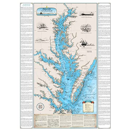 Chesapeake Bay Maps Amazoncom