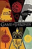 Grupo Erik PP33277 Poster Game Of Thrones Sigils, carta, Multicolore,  91 x 61,5 x 0,1 cm