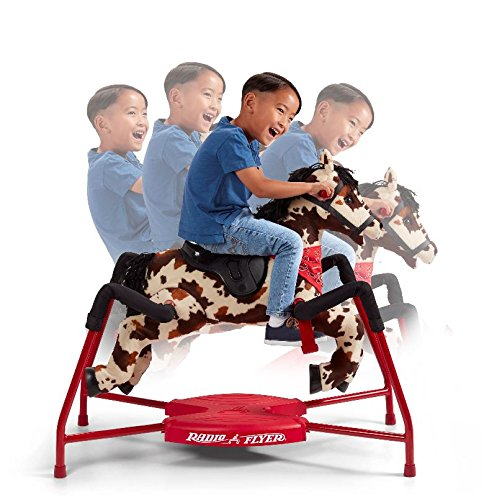 Radio Flyer Freckles Plush Interactive Riding Horse by Radio Flyer (Image #1)