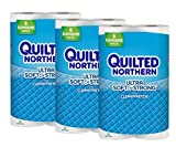Health & Personal Care : Quilted Northern  Ultra Soft & Strong Supreme Toilet Paper with CleanStretch, 24 Supreme Rolls (Three 8-Roll Packages), Equivalent to 92+ Regular Rolls-Packaging May Vary