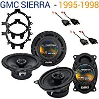 GMC Sierra 1995-1998 Factory Speaker Replacement Harmony R5 R46 Package New