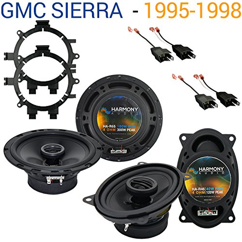 Fits GMC Sierra 1995-1998 Factory Speaker Replacement Harmony R5 R46 Package New