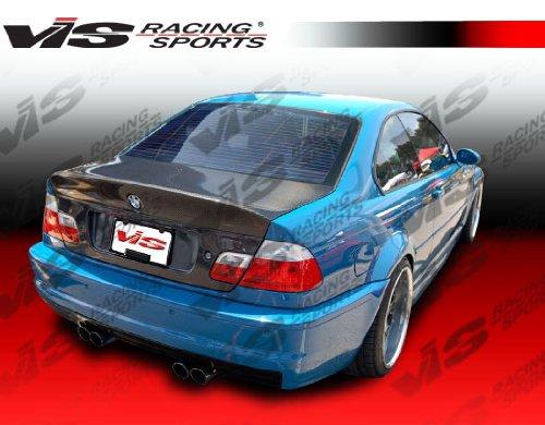 (VIS (99BME462DCSL-020C) CSL(Euro) Style Trunk Carbon Fiber - Compatible for BMW 3 SERIES(E46) 1999-2005 (1999 2000 2001 2002 2003 2004 2005 | 99 00 01 02 03 04 05))